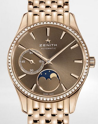 Buy Zenith Ladies' Watch HERITAGE ULTRA THIN LADY MOONPHASE 33 MM 22.2310.692/75.M2310
