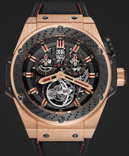 Hublot watch Limited edition King Power Tourbillon F1™ 48mm 707.OM.1138.NR.FMO10