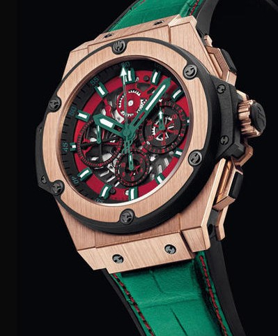 HUBLOT KING POWER MEXICO LIMITED EDITION 710.OX.0130.GR.MEX10 replica
