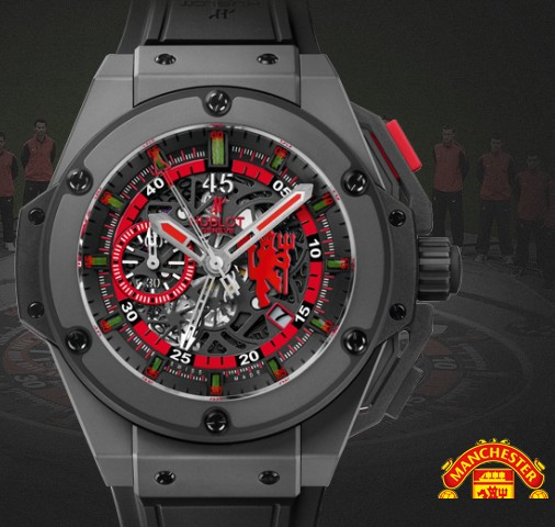 Hublot watch Limited edition King Power Red Devil Ceramic 48mm 716.CI.1129.RX.MAN11