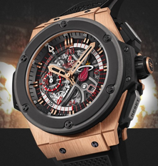 Hublot watch Limited edition King Power Miami HEAT 48mm 748.OM.1123.RX