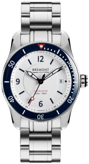 Replica BREMONT S300 WHITE BRACELET S300-WH-BR-D watch price