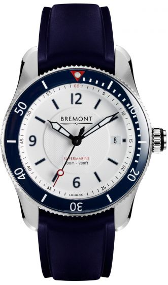 Replica BREMONT S300 WHITE S300-WH-D watch price