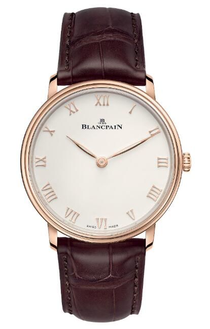Buy Replica Blancpain Villeret Ultraplate Watch 6605-3642-55A