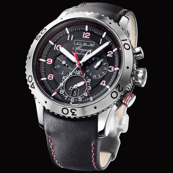 Shopping Swiss Breguet TYPE XXII 10 HZ FLYBACK CHRONOGRAPH GMT watch REF: 3880STH/23/XV Online