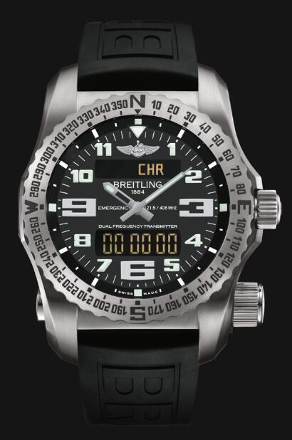 Discount Fake Breitling Professional EMERGENCY E7632522|BC02|156S|E20DSA.2 Men watch