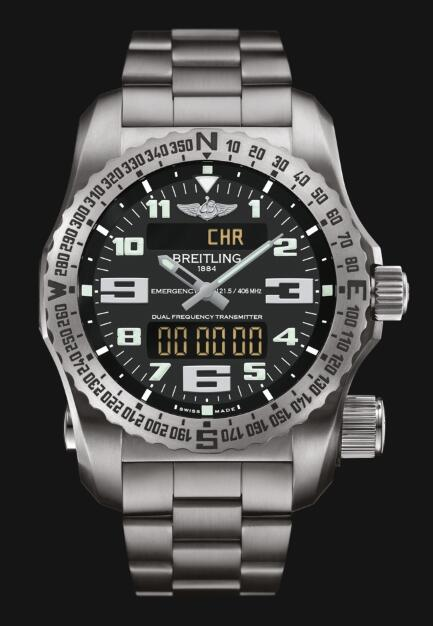 Discount Fake Breitling Professional EMERGENCY E7632522|BC02|159E Men watch