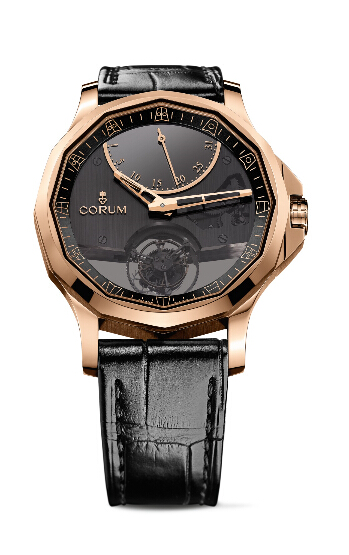 Fashion Swiss Corum Admiral's Cup Legend 42 Flying Tourbillon Red Gold 2015 replica watch REF: A016/02673 - 016.101.55/0001 AN10 Review