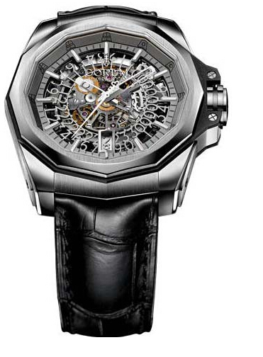 Cheap Copy Swiss Corum Admiral's Cup AC-One 45 Skeleton Titanium 2014 watch REF: A082/02336 - 082.401.04/0F01 FH10 Review