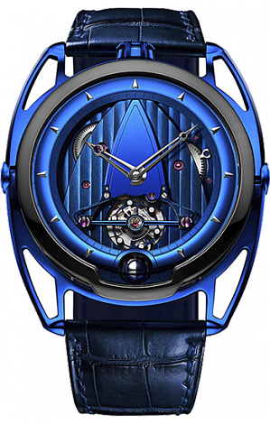 Best DE BETHUNE Dress DB28 Kind of Blue Z fake watch DB28BZBN-S for sale