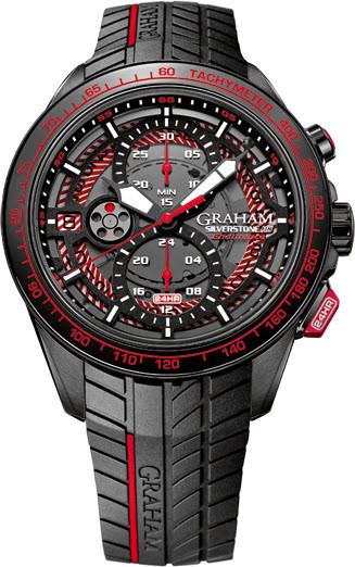 Shopping GRAHAM LONDON 2STCB.B03A.K89H Silverstone RS Endurance Red Limited Edition replica watch