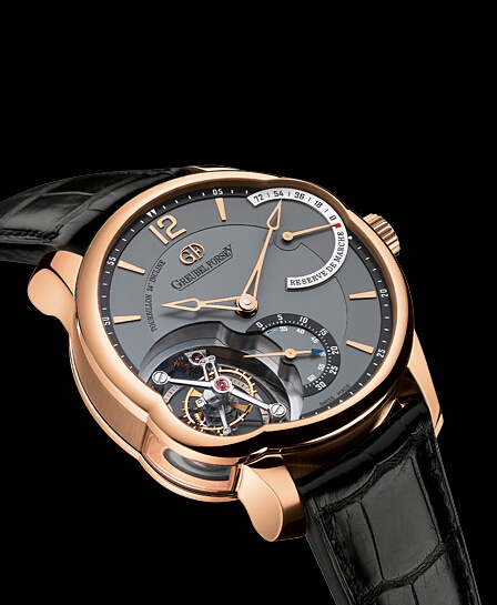 Fake Greubel Forsey Tourbillon 24 Secondes watch T24Si black gold dial Online