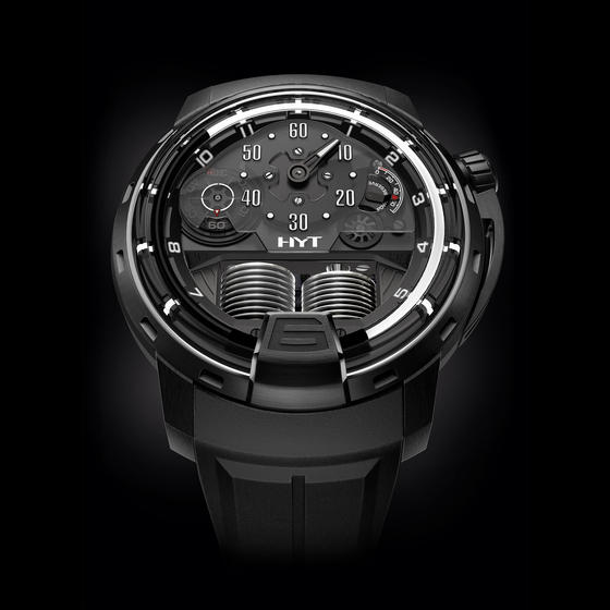Buy Replica HYT H1 GHOST Men 148-DL-60-NF-RU watch