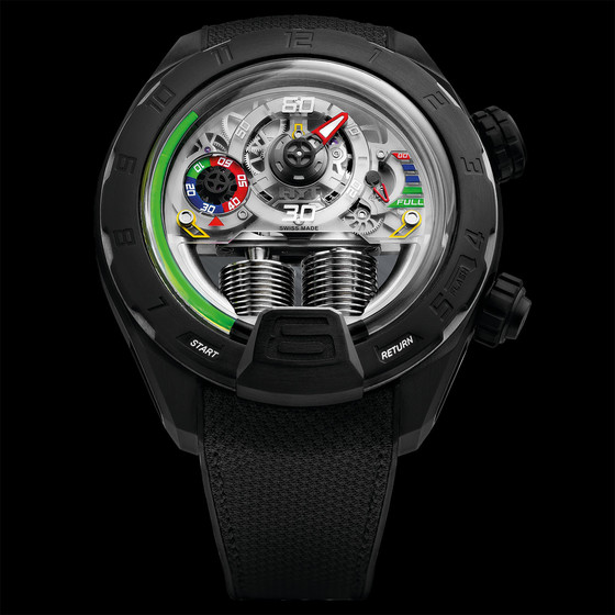 Buy Replica HYT 2017 H4 PANIS-BARTHEZ COMPETITION 151-DL-08-GF-RN watch