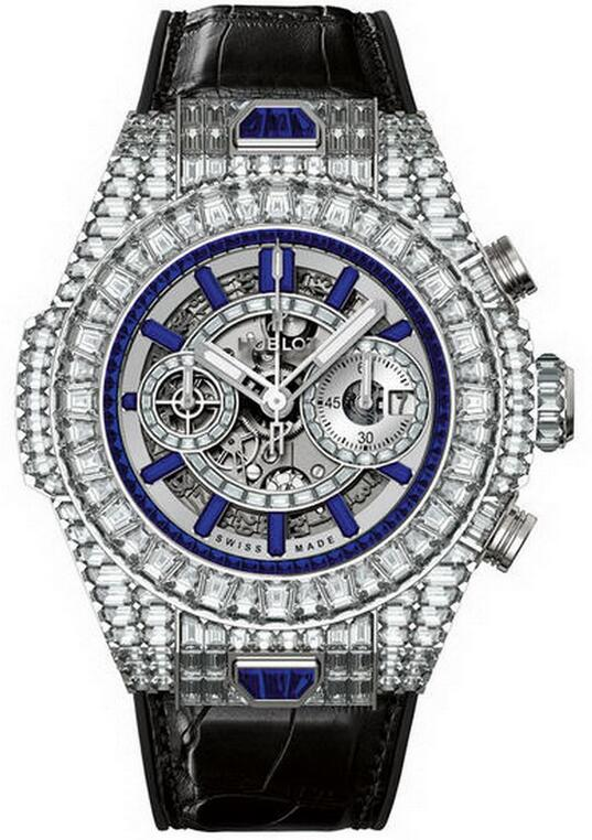 Best Hublot Big Bang Unico Haute Joaillerie 411.WX.9041.LR.9941 copy watch