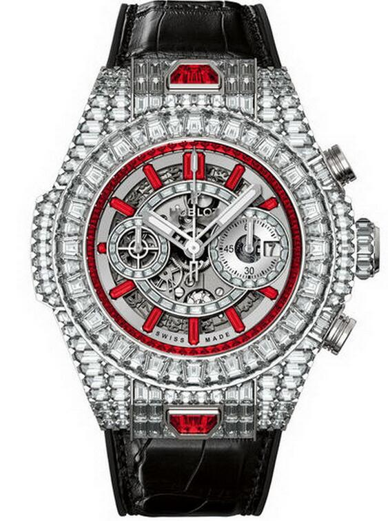Best Hublot Big Bang Unico Haute Joaillerie 411.WX.9042.LR.9942 copy watch