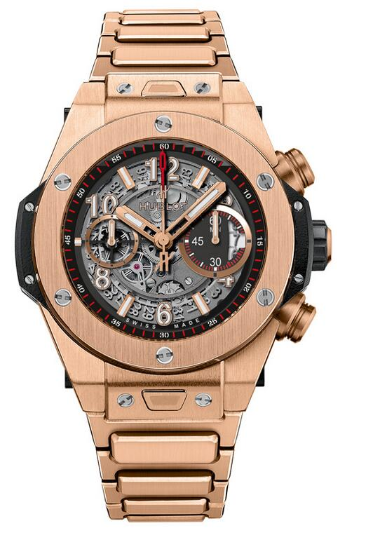 Best Hublot Big Bang Unico King Gold Bracelet 411.OX.1180.OX copy watch