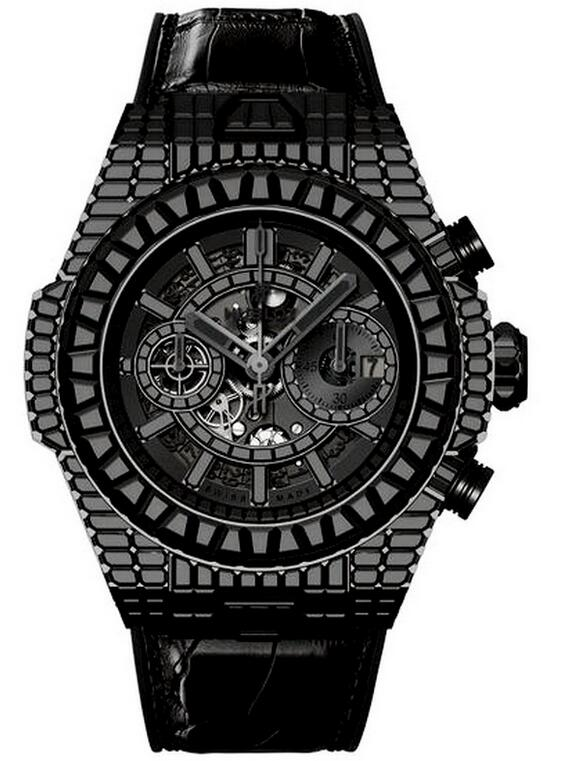 Best Hublot Big Bang Unico Haute Joaillerie 411.WD.9000.LR.9900 copy watch