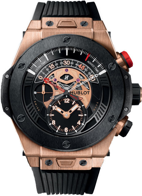 Best Hublot Big Bang Unico Bi-Retrograde Chrono King Gold Ceramic 413.OM.1128.RX copy watch