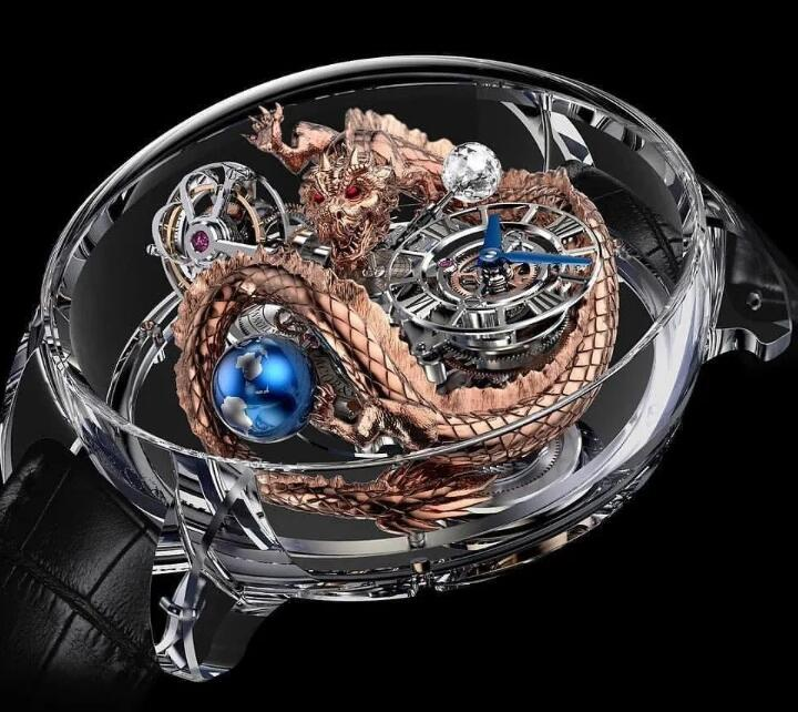 Luxury Replica Jacob & Co. 2018 Grand Complication Masterpieces - Astronomia Dragon watch AT125.80.DR.SD.B price