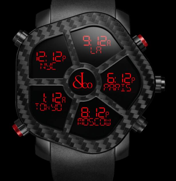 Jacob & Co GHOST CARBON GH100.11.NS.PC.ANA4D Replica watch