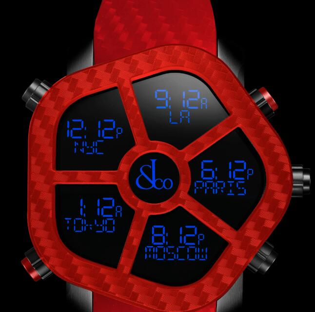 Jacob & Co GHOST COLOR RED GH100.11.NS.PC.AND4D Replica watch