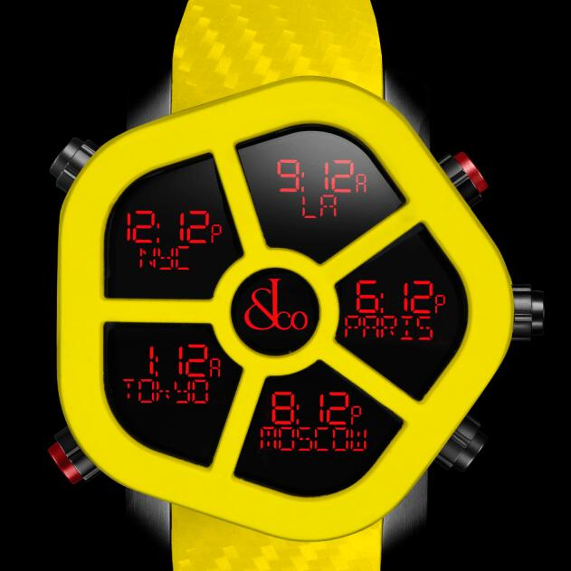Jacob & Co GHOST COLOR YELLOW GH100.11.NS.PC.ANH4D Replica watch