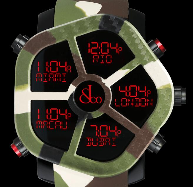 Jacob & Co GHOST CARBON CAMOUFLAGE GH100.11.NS.PC.ANO4D Replica watch