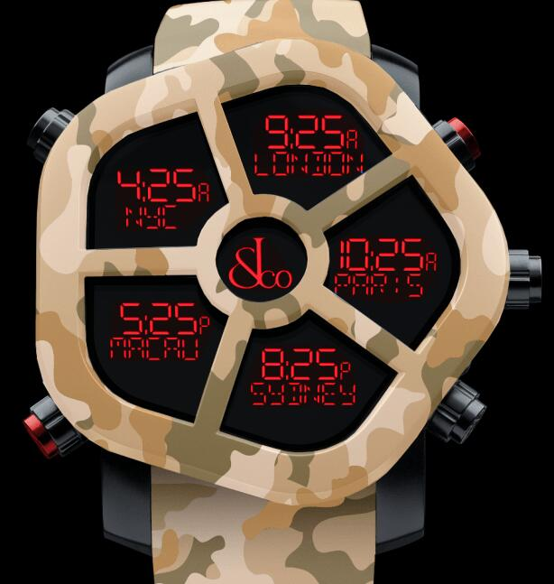 Jacob & Co GHOST CARBON CAMOUFLAGE SAND GH100.11.NS.PC.ANQ4D Replica watch