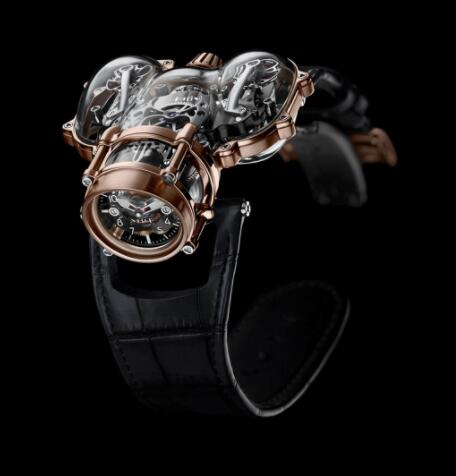 Replica MB&F HM9 Sapphire Vision Red Gold 91.SRL.BL watch Perfect