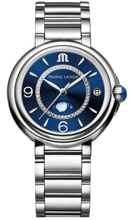 Replica Maurice Lacroix Fiaba Moonphase watch FA1084-SS002-420-1 Price