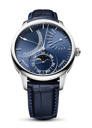 Copy Maurice Lacroix Masterpiece Lune Rétrograde watch MP6528-SS001-430 Price