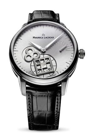Copy Maurice Lacroix Masterpiece Roue Carrée Seconde watch MP7158-SS001-901 Price
