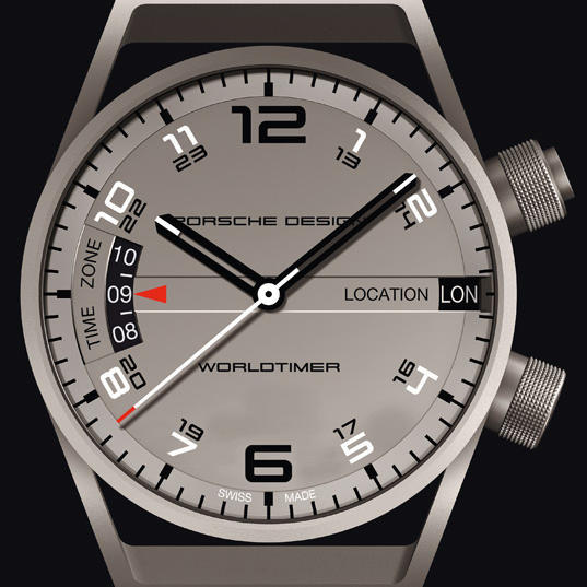 Sale Replica PORSCHE DESIGN P-6750 WORLDTIMER 6750.10.24.1180 watch