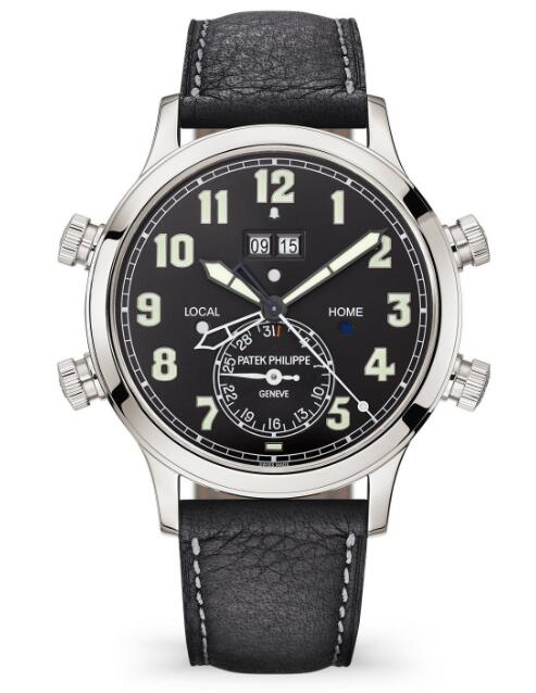 Buy Patek Philippe Grand Complications Ref. 5520P Alarm Travel Time Fake Watch 5520P-001