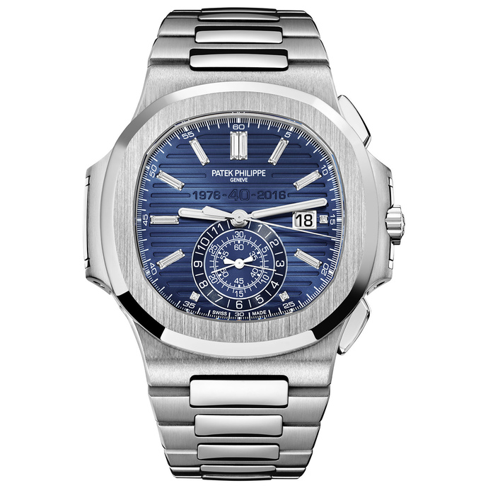 Buy Patek Philippe Nautilus Chronograph 40th Anniversary Limited Edition Fake Watch 5976/1G