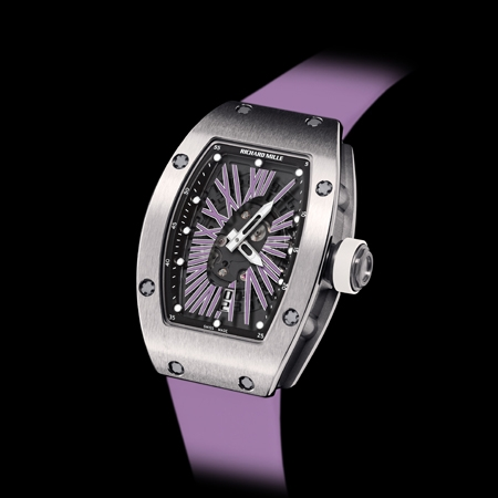 Best Richard Mille RM 007 replica Watch RM 007 Automatic Ladies 2012 Purple Strap for sale
