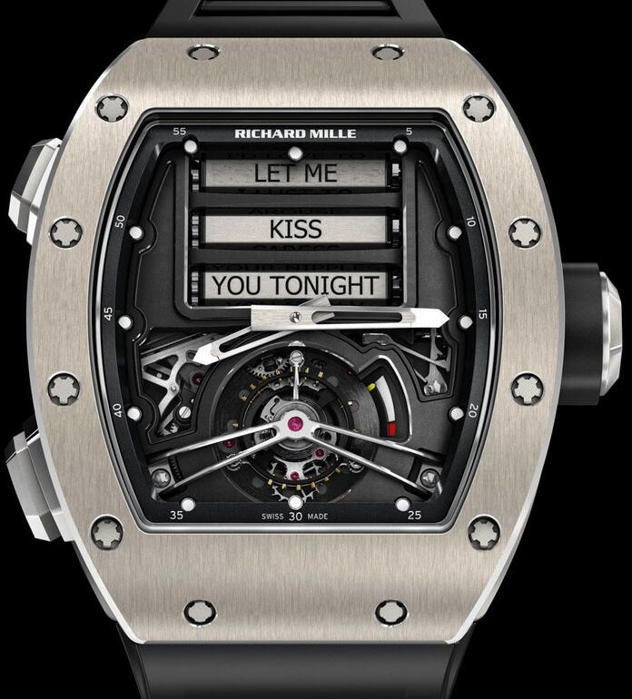 Cheap Richard Mille RM 069 2015 replica Watch RM 69 Erotic Tourbillon for sale