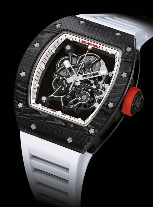 Nice RICHARD MILLE Replica Watch RM 055 JAPAN RED WATCH