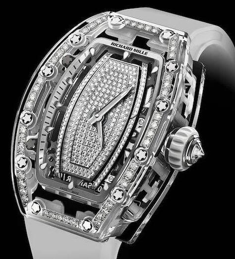 Luxury Richard Mille RM 07-02 With Set Bezel Automatic Sapphire Replica watch