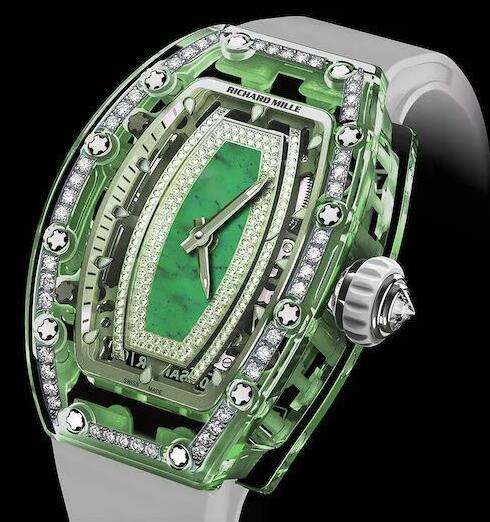 Luxury Richard Mille RM 07-02 With Green Sapphire Automatic Replica watch