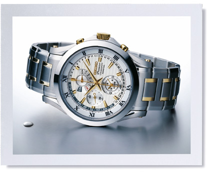 Shopping Seiko Premier Chronograph Perpetual Men copy watch SPC052P1 for sale