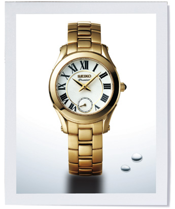Shopping Seiko Premier Small Second Women copy watch SRKZ74P1 for sale