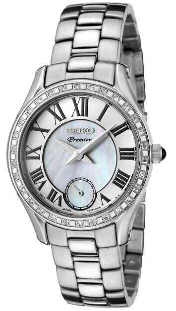 Shopping Seiko Premier Small Second Hand Women copy watch SRKZ93 for sale