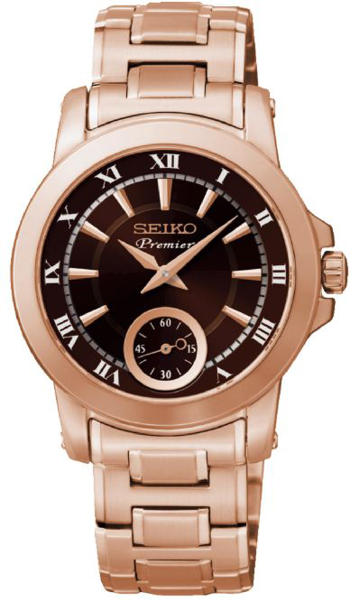 Shopping Seiko Premier Small Second Hand 6G28 Women copy watch SRKZ64P1 for sale