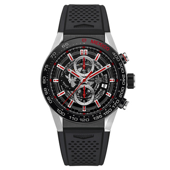 Wholesale Cheap Tag Heuer Carrera Calibre Heuer 01 Automatic Chronograph Mexico Angel Limited Edition CAR2A1F.FT6044 watch
