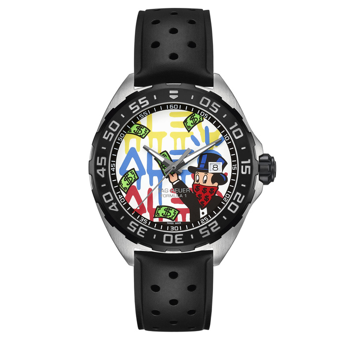 Wholesale Cheap Tag Heuer Formula 1 Alec Monopoly Special Decoration WAZ1119.FT8023 watch