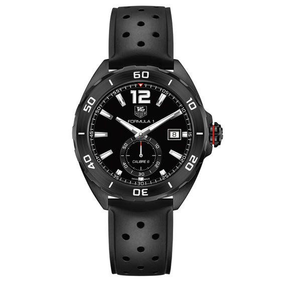 Luxury Tag Heuer FORMULA 1 CALIBRE 6 AUTOMATIC FULL BLACK EDITION WAZ2112.FT8023 cheap watch