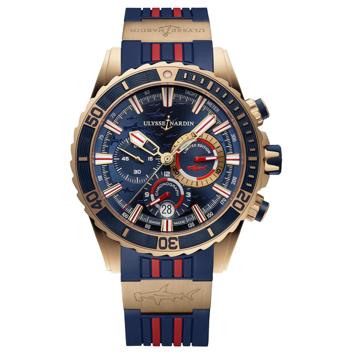 Review Cheap Ulysse Nardin Diver Chronograph 1502-151LE-3/93-HAMMER watch