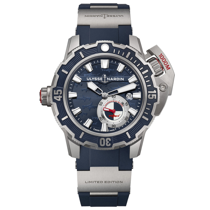 Review Cheap Ulysse Nardin Diver Deep Dive 3203-500LE-3/93-HAMMER watch
